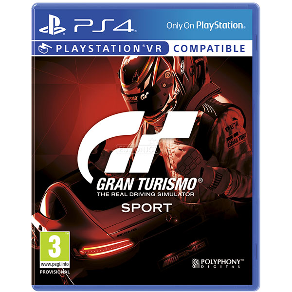 Đĩa Game PS4 Gran Turismo Sport Hệ Asia
