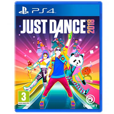 Đĩa Game PS4 Just Dance 2018 Hệ Asia