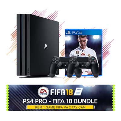 Máy PS4 Pro fifa 2018 bundle