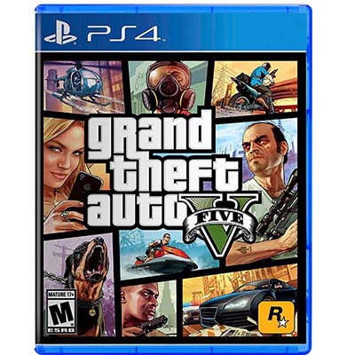 Đĩa Game PS4 GTA Grand Theft Auto V