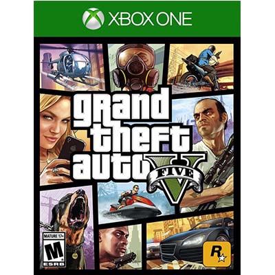 Đĩa Game Xbox One Gta Grand Theft Auto V