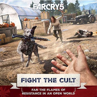 Đĩa Game PS4 Far Cry 5 Hệ Asia