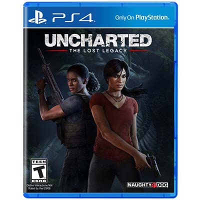 Đĩa Game PS4 Uncharted The Lost Legacy Hệ Asia