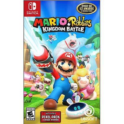 Game Nintendo Switch Mario + Rabbids Kingdom Battle