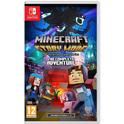Game Nintendo Switch Minecraft Story Mode The Complete Adventure