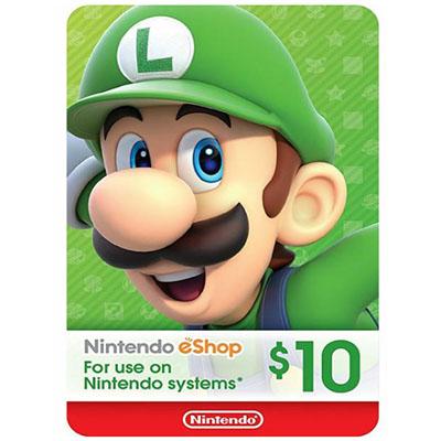 Thẻ Nintendo eShop 10$