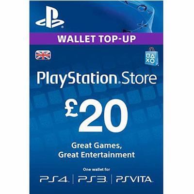 Thẻ Psn 20GBP Hệ UK
