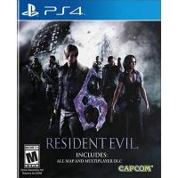 Đĩa Game PS4 Cũ Resident Evil 6