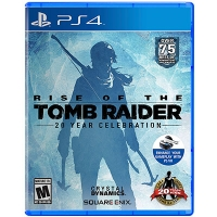 Đĩa Game PS4 Rise of the Tomb Raider Hệ US