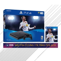 Máy PS4 Slim 500GB Fifa 18 Bundle Hàng US