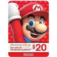 Thẻ Nintendo eShop 20$