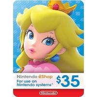 Thẻ Nintendo eShop 35$