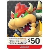 Thẻ Nintendo eShop 50$