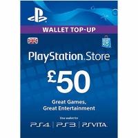 Thẻ Psn 50GBP Hệ UK