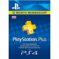 Thẻ Psn Plus 12 Tháng Hệ UK