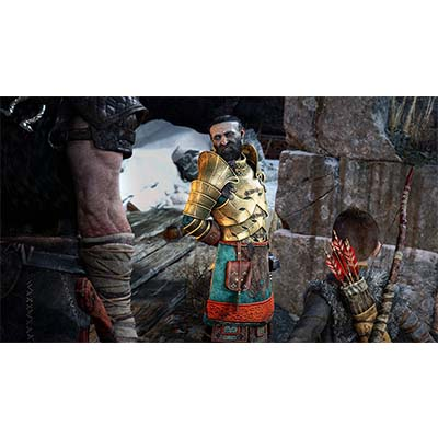 Đĩa Game PS4 God Of War 4 Hệ Asia
