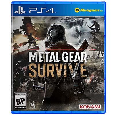 Đĩa Game PS4 Metal Gear Survive Hệ US
