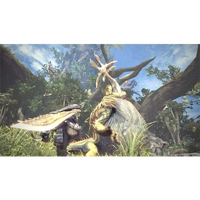 Đĩa Game PS4 Monster Hunter: World Hệ US