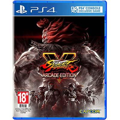 Đĩa Game PS4 Street Fighter V Arcade Hệ Asia