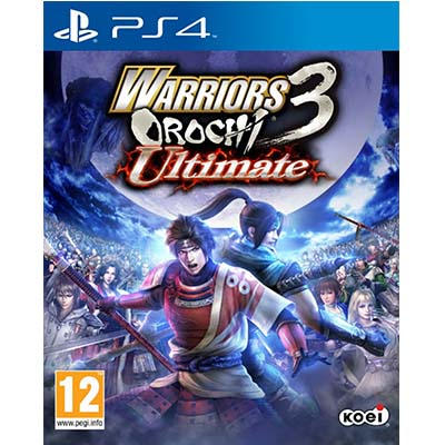 Đĩa Game PS4 Warriors Orochi 3 Ultimate Hệ EU