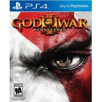 Đĩa Game PS4 Cũ God Of War III Remaster