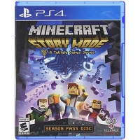 Đĩa Game PS4 Cũ MineCraft Season Two Story Mode