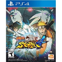 Đĩa Game PS4 Cũ Naruto Shippuden: Ultimate Ninja Storm 4