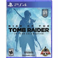 Đĩa Game PS4 Cũ Rise Of The Tomb Raider
