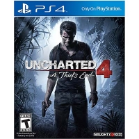 Đĩa Game PS4 Cũ Uncharted 4 : A Thiefs End