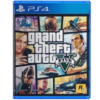 Đĩa Game PS4 GTA Grand Theft Auto V Hệ Asia