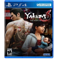 Đĩa Game PS4 Yakuza 6: The Song of Life Hệ US