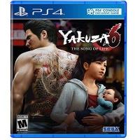 Đĩa Game PS4 Yakuza 6: The Song of Life Hệ US