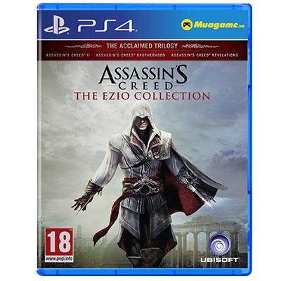 Đĩa Game PS4 Assassin s Creed Ezio Collection Hệ Asia