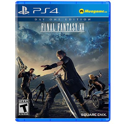 Đĩa Game PS4 Final Fantasy XV: Day One Edition Hệ US