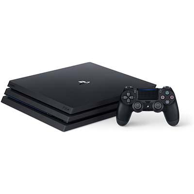 Mặt trước khi để máy PS4 nằm