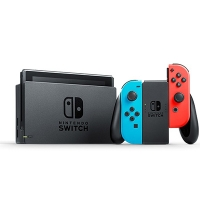 Máy Nintendo Switch with Neon Blue and Neon Red Joy-Con