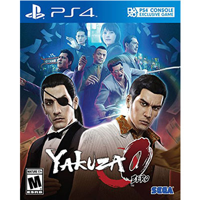 Chép Game PS4 Yakuza 0 Zero