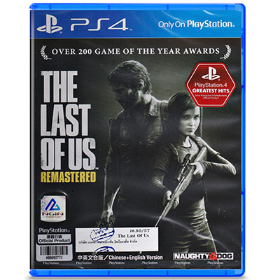 Đĩa Game PS4 The Last of Us Remastered Hệ Asia