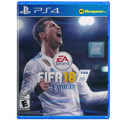 Đĩa Game PS4 Fifa 2018 Hệ US