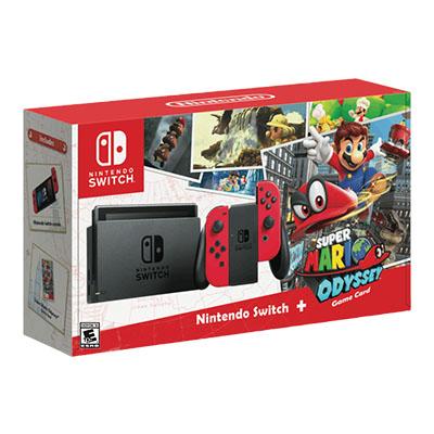 Máy Nintendo Switch Bundle Super Mario Odyssey