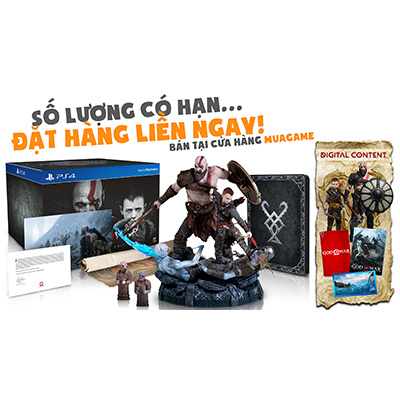 Bộ God of War Collector Edition