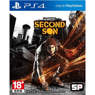 Chép Game PS4 inFAMOUS: Second Son