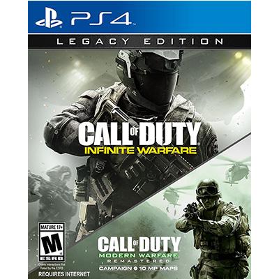 Đĩa Game PS4 Cũ Call of Duty Infinite Warfare