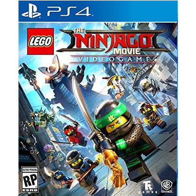 Đĩa Game PS4 Lego Ninjago Movie Game Hệ US
