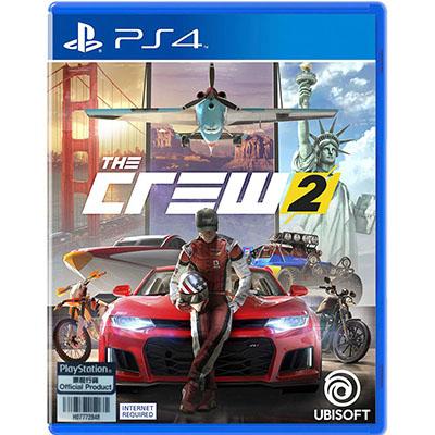 Đĩa Game PS4 The Crew 2 Hệ Asia