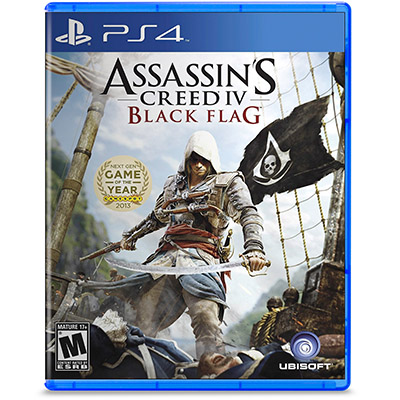 Đĩa Game PS4 Assassin Creed Black Flag Hệ US