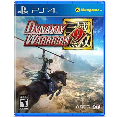 Đĩa Game PS4 Dynasty Warriors 9 Hệ US