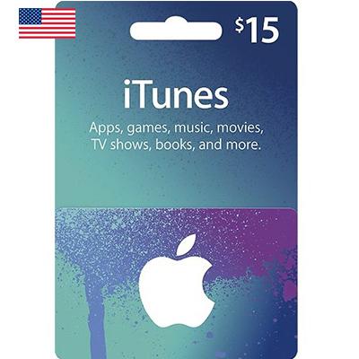 Thẻ iTunes 15$ (US)
