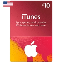 Thẻ iTunes 10$ Hệ US