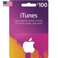 Thẻ iTunes 100$ Hệ US